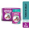 Whiskas Kitten Tuna Jelly in Cat Food